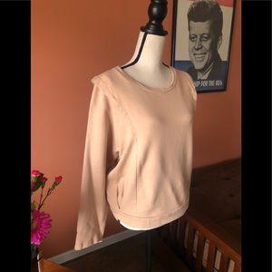 MNG dusty peach sweatshirt